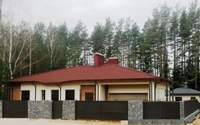 Жилой дом коттеджном поселке Ясная Поляна