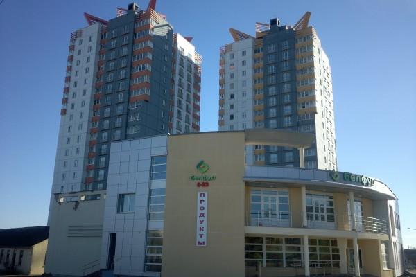 Административно-торговый центр БЕЛФУД по улице Одесская г. Минска